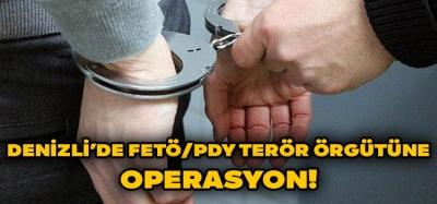 Denizli'de FETÖ/PDY Operasyonu!