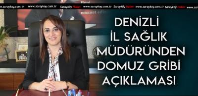 DENİZLİ'DE GRİP SALGINI ARTINCA AÇIKLAMA GELDİ