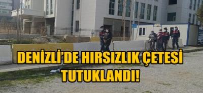 Denizli'de Hırsızlık Çetesi Tutuklandı!