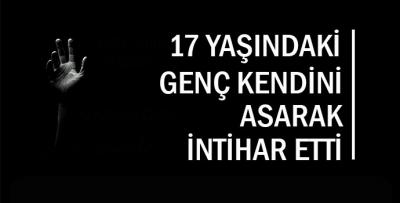 DENİZLİ'DE İNTİHAR