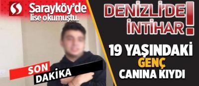 DENİZLİ'DE İNTİHAR!