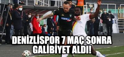 Denizlispor 7 Maç Sonra Galibiyet Aldı!