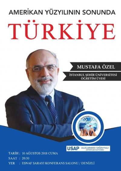 DR. MUSTAFA ÖZEL DENİZLİ'DE