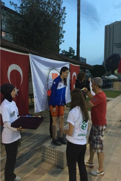 Koç Spor Fest'de Madalyaları Topladılar