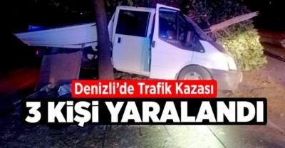KUMKISIK'DA TRAFİK KAZASI