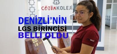 LGS'DE DENİZLİ 1.'NCİSİ ŞEVVAL BERBER OLDU