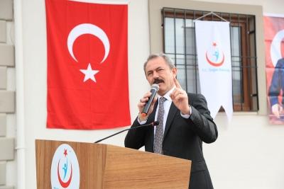 Milletvekili Şahin Tin, 112 istasyonu açılışında Serinhisarlı hemşehrilerine seslendi:     SERİNHİSAR İSTEDİ BİZ YAPTIK!