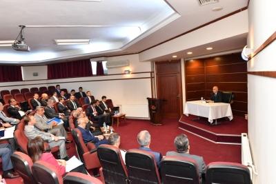 Nisan Ayı Kaymakamlar Toplantısı Yapıldı