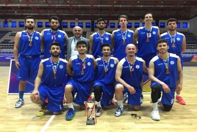 PAÜ Erkek Basketbol Takımı 3. lükle Döndü