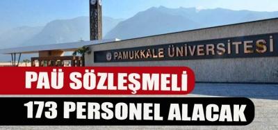 PAÜ SÖZLEŞMELİ 173 PERSONEL ALACAK