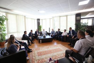 PAÜ ve Buhara Üniversitesi'nden İşbirliği Protokolü