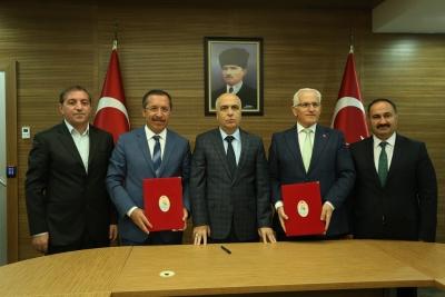 PAÜ ve MEB Arasında Yönetici ve Öğretmenlere Yönelik Tezsiz Yüksek Lisans Programına İlişkin Protokol İmzalandı