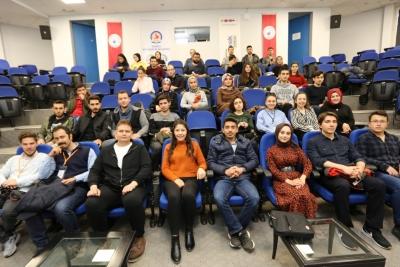 PAÜ'lü gençlere Eurodesk fırsatları anlatıldı