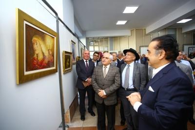 Ressam Ahmet Cevdet Şemsioğlu sergisi açıldı