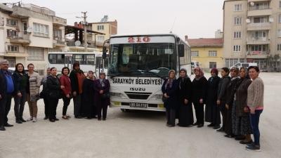 Sarayköy Belediyesi'nden kanserle savaşa büyük destek