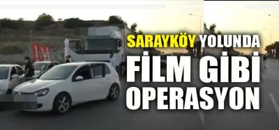 SARAYKÖY - DENİZLİ ARASINDA TIR OPERASYONU (VİDEO-HABER)