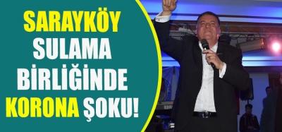 Sarayköy Sulama Birliğinde Korona Şoku!