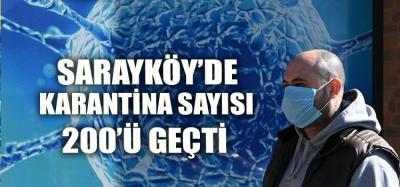 SARAYKÖY'DE ÇEMBER DARALIYOR BİR GÜNDE 8 POZİTİF