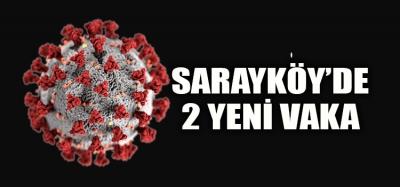 SARAYKÖY'DE İKİ YENİ VAKA DAHA KAYDEDİLDİ
