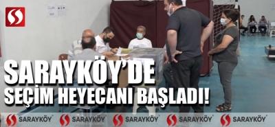 Sarayköy'de seçim heyecanı başladı!
