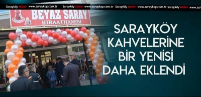 SARAYKÖY'ÜN YENİ KIRAATHANESİ