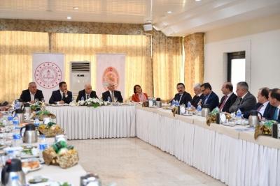 Sektör Temsilcileri ve Oda Başkanları ile Mesleki Eğitim Konuşuldu