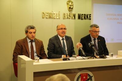 Tarımsal kooperatiflerde kurumsal yatırım fonu projesi basın toplantısı düzenlendi.