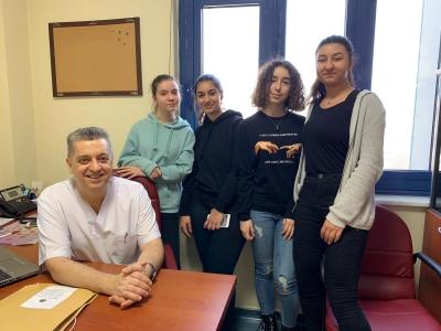 TED Öğrencileri Mesleki Gözlem Programında Hekimlik Mesleğini  Gözlemlediler