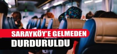 YOLCU OTOBÜSÜNDE KORONA PANİĞİ